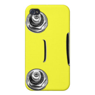 Fun face from vintage sink fixtures SINKMAN iPhone 4 Case
