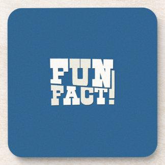 Fun Fact! Beverage Coasters