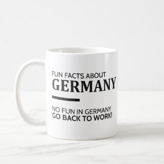 Fun Facts About Germany Coffee Mug