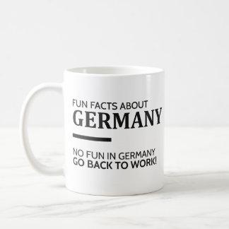 Fun Facts About Germany Coffee Mug