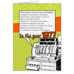 Fun Facts Birthday – Cost of Living in 1977 Greeting Card