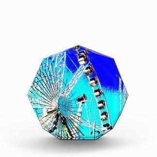 fun fair in amsterdam ferris wheel and high tower acrylic award