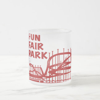 Fun Fair Park Frosted Mug
