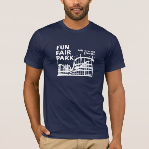Fun Fair Park in your choice of dark color T_Shirt