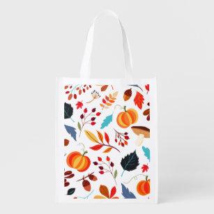 Harvest Blessings Reusable Cotton Bag