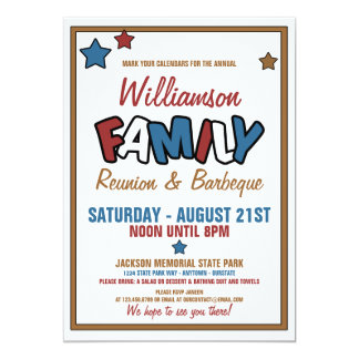 Great Fun Family Reunion Invitations Within Invitations For Family Reunion