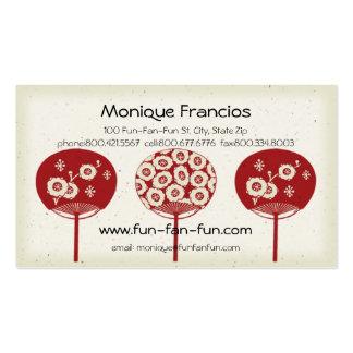 Fun-Fan-Fun Business Card