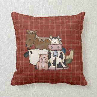 Farm Animal Throw Pillows : Kids Farm Pillows - Decorative & Throw Pillows Zazzle