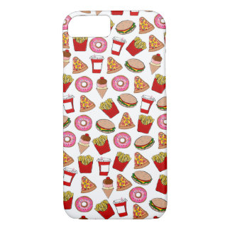 Fun fast food patterned iPhone 7 case