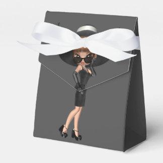 Fun Favorite Diva Birthday Party Favor Box
