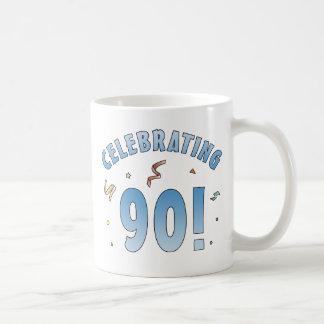 Fun Festive 90th Birthday Gifts Coffee Mug