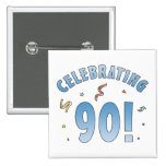 Fun Festive 90th Birthday Gifts Pins