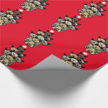Fun Festive Felines Christmas Wrapping Paper