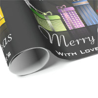 Fun & Festive Personalized Merry Christmas Wrapping Paper