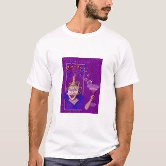 Fun & Festive Purple Party Design T-Shirt