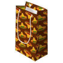 Fun Fiesta Sombrero pattern tiled bag