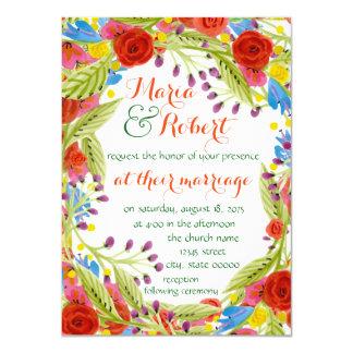 Fun Fiesta Wedding Card