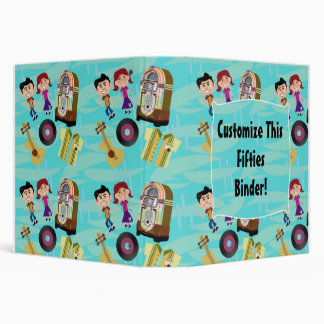 Fun Fifties! Vinyl Binder