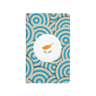 Fun Filled, Round flag of Cyprus Journal