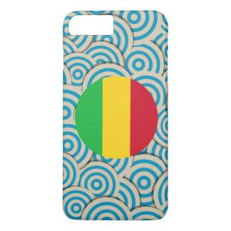 Fun Filled, Round flag of Mali iPhone 8 Plus/7 Plus Case