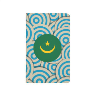 Fun Filled, Round flag of Mauritania Journal