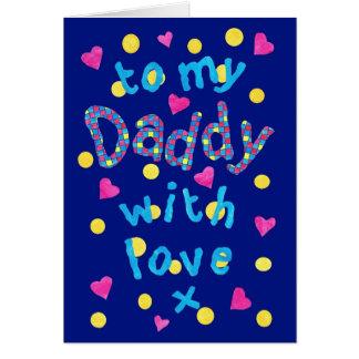 Fun First Father's Day Card or Birthday Card