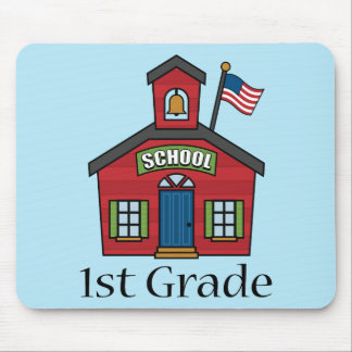 Fun First Grader School Gift Mouse Pad