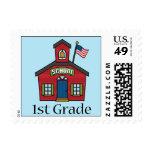 Fun First Grader School Gift Postage Stamp