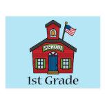 Fun First Grader School Gift Postcard