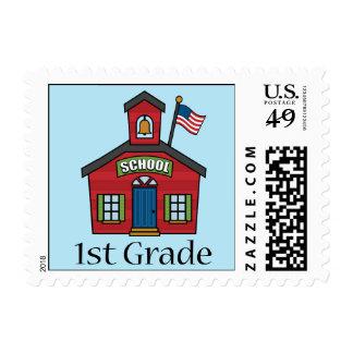 Fun First Grader School Gift Stamp
