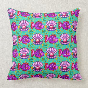 Professional Business Fun Fish Beach Pillow