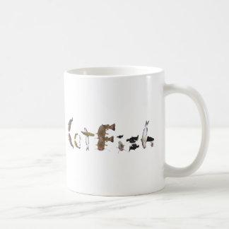 Fun fishing coffee mug