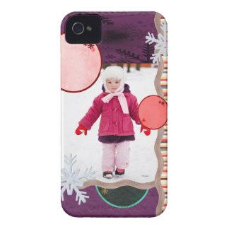 Fun Flakes iPhone 4 Case-Mate Case
