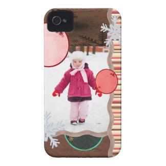 Fun Flakes Photo Card Case-Mate iPhone 4 Case