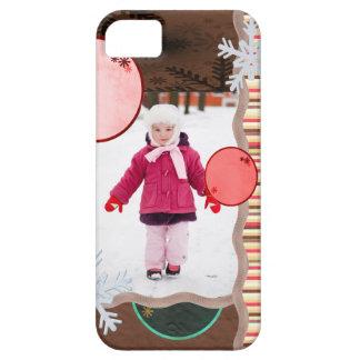 Fun Flakes Photo Card iPhone SE/5/5s Case