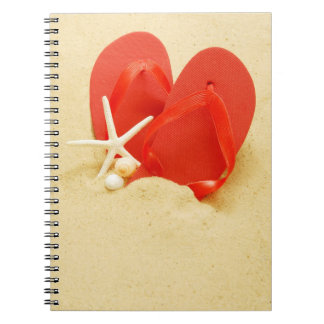Fun Flip-Flops Notebook