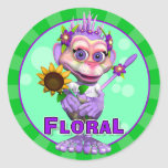 Fun Floral Stickers