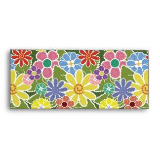 Fun Florals #10 Envelope