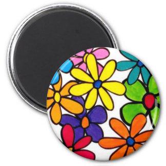 fun flower magnet