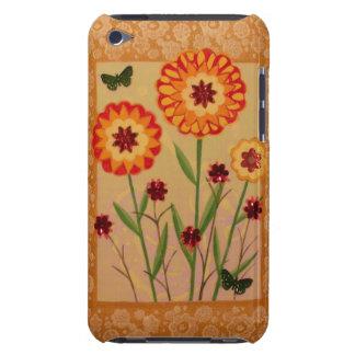 Fun Flowers & Butterflies iPod Case