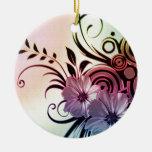 Fun Flowers Ornaments