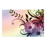 Fun Flowers Personalized Stationery