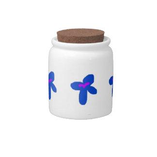 Fun Flowers Splash Candy Jars