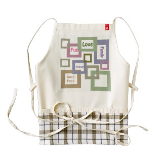 Fun, Food, Family, Friends Apron