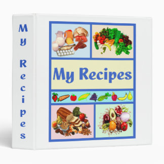 Fun Food Group Recipe Binder