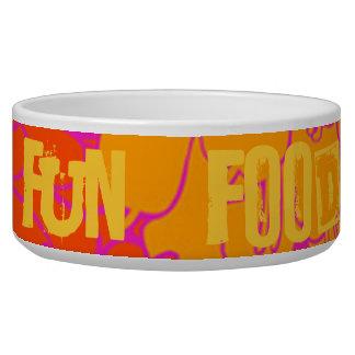 FUN-FOOD DOG FOOD BOWLS
