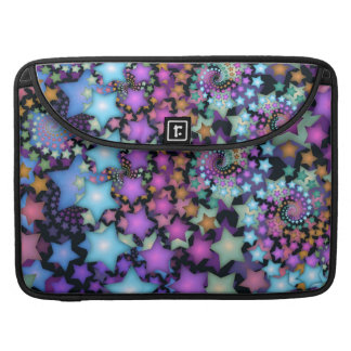 Fun Fractal Art Colorful Stars Sleeve For MacBook Pro