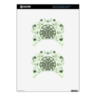 Fun Fractal Blank Background Xbox 360 Controller Decal