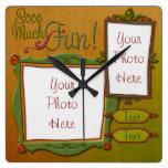 Fun Frames Wall Clocks