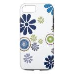 Fun fresh flower designed case in shades of winter